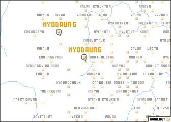 map of Myodaung