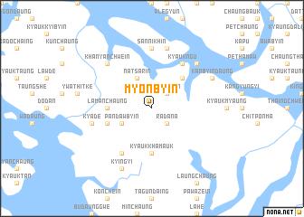 map of Myonbyin
