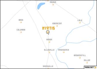 map of Myrtis
