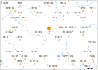 map of Na-aw