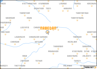 map of Nabedan