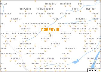 map of Nabegyin