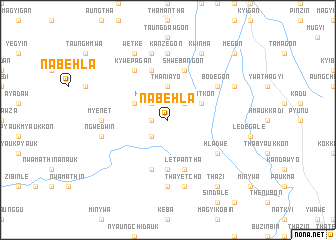 map of Nabehla