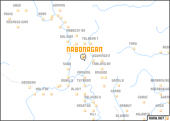 map of Nabonagan