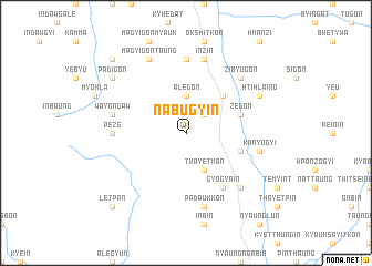 map of Nabugyin