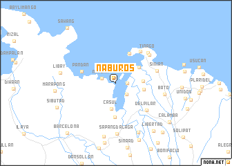 map of Naburos