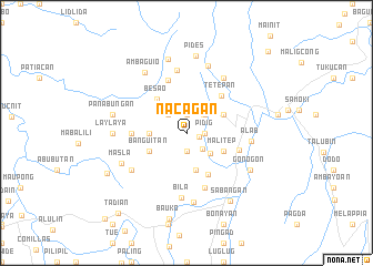 map of Nacagan