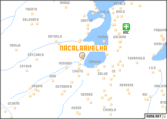 NacalaaVelha Mozambique map nonanet