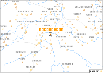 map of Nacampegan