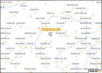 map of Nadaukiai