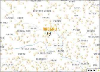 map of Nadgaj