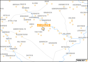 map of Nadinka
