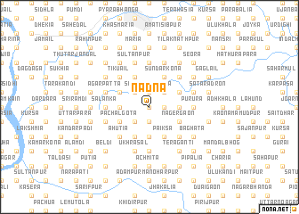 map of Nadna