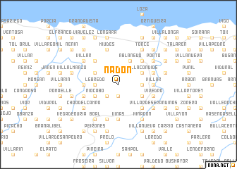 map of Nadón