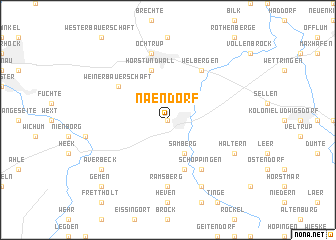 map of Naendorf