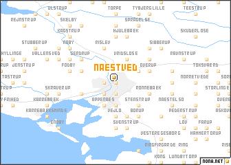Næstved (Denmark) map - nona.net