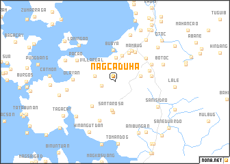 map of Nagcaduha