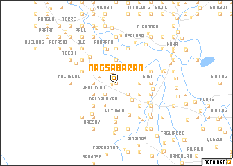 map of Nagsabaran
