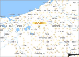 map of Nagsaing