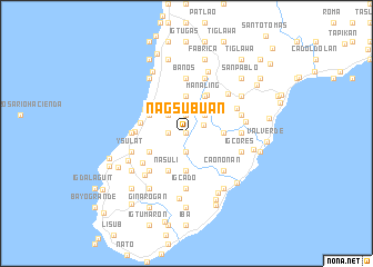 map of Nagsubuan