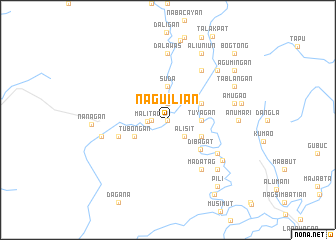 map of Naguilian