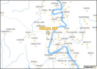 map of Naguilian