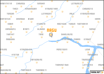 map of Nagu