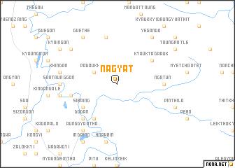 map of Nagyat