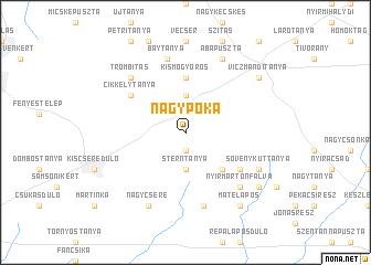 map of Nagypóka