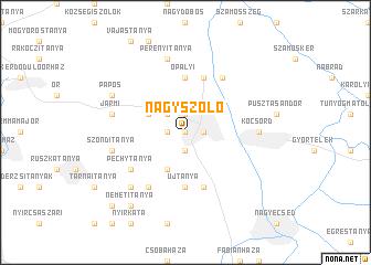 map of Nagyszőlő