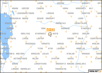 map of Nahi