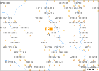 map of Nā-hi