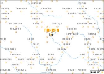 map of Nā-hkam
