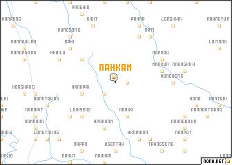 map of Nahkam