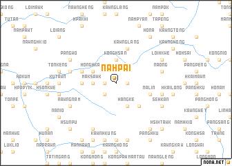 map of Nāhpai