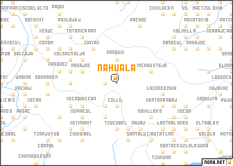 map of Nahualá