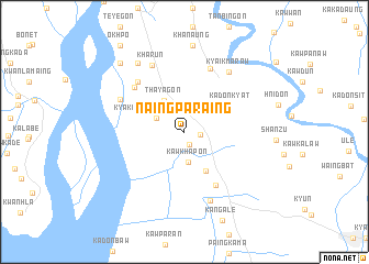 map of Naingparaing