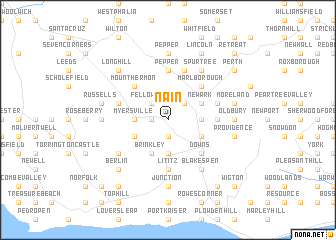 map of Nain