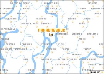 map of Nakaungbauk