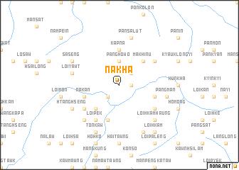 map of Nákha