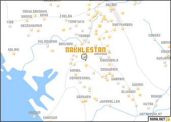 map of Nakhlestān