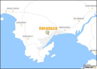 Nakhodka Russia Map Nonanet - Nakhodka map