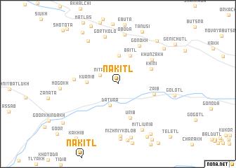 map of Nakitl\