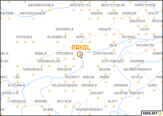 map of Nakol