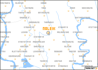 map of Naleik