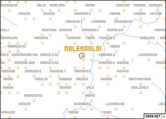 map of Na-le-man-loi