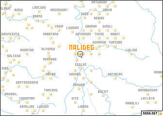 map of Nalideg