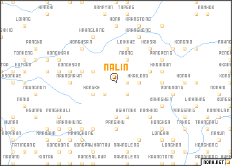 map of Na-lin