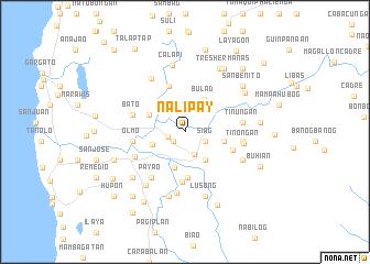 map of Nalipay