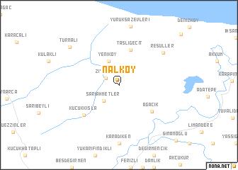 map of Nalköy